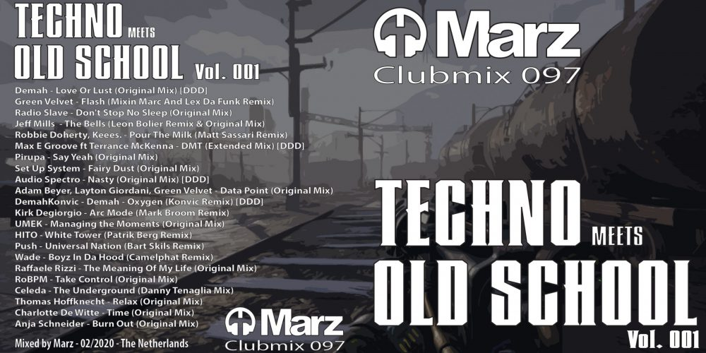 Clubmix 097 - Techno Meets Olds School